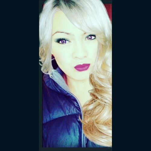 Throwback to when I was a blondie ! Purple contacts 🙊 Selfie ✌ All About Me 😉 Purplelicious💋