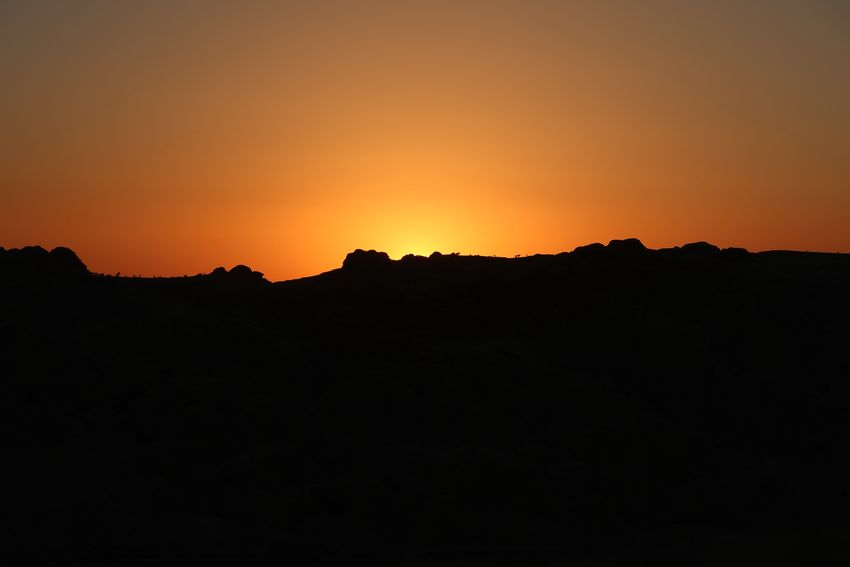 Beauty In Nature Day Jordan Jordan Middle East Jordans Landscape Middle Ages Mountain Nature No People Outdoors Scenics Silhouette Sky Sunset Tranquil Scene Tranquility