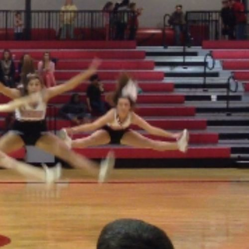Getting Better At These Toe Touches!