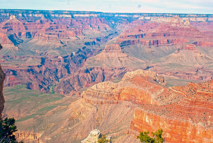 Scenics - Nature Tranquil Scene Landscape Non-urban Scene Rock Rock Formation Rock - Object Environment Canyon Geology Travel Travel Destinations Grand Canyon Outdoors