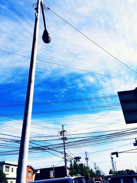 おはようございます(^ω^)今日はいい天気ねぇ〜 Hello World Blue Sky Japan