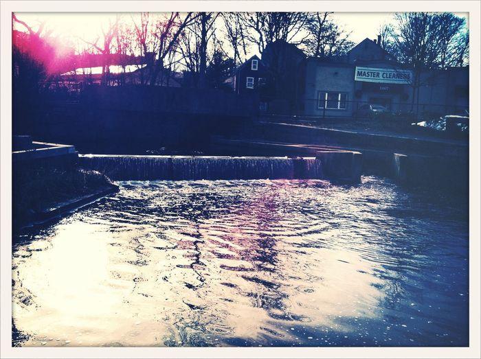 Wintry waterway EyeEm Winter AMPt_community AMPt_Nature
