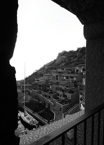 Looking To The Other Side Darkness And Light Bn Bwn Blak And White EyeEm Trieste Panorama
