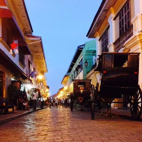 Calle Crisologo. Vigan Philippines Vigan Travel Destinations Outdoors Street Photography Structures And Architecture Finding New Frontiers