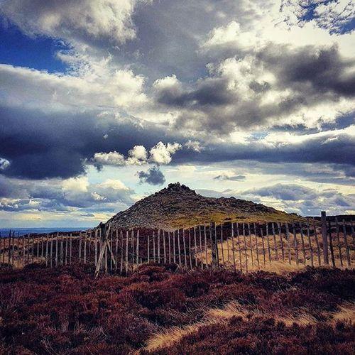 Smoking Volcano - Almost looked like the peak of the Cairn was smoking. ☺🌋 Sunset Peak Mountain Smoke Volcano Rustic Rocks Beautiful Glow Sky Cairnomount Aberdeenshire Banchory Landscape POTD Photooftheday Visitaberdeenshire Visitabdn VisitScotland