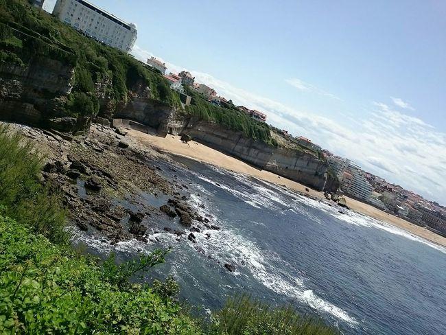 Biarritz Plage Vuedehaut VueDeFou Splendid CielBleu Blue Sky
