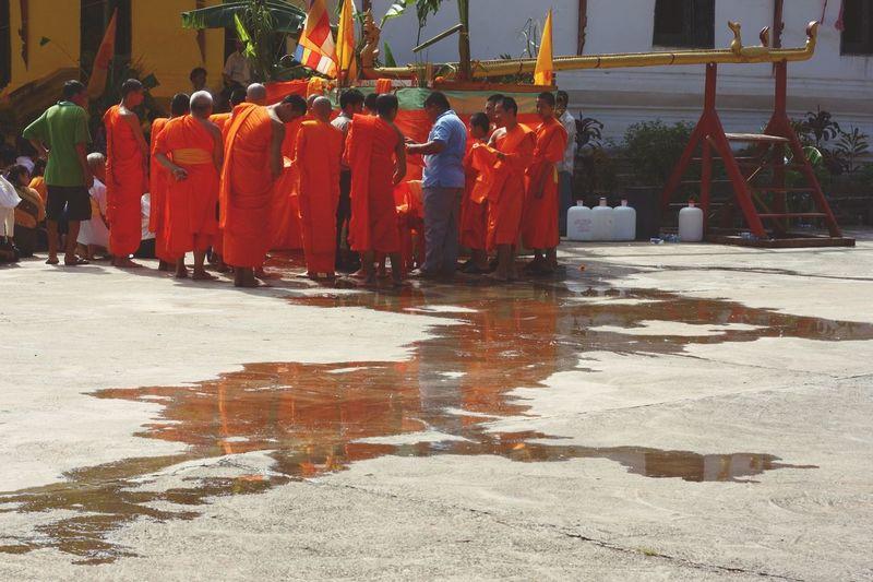 Laos Boun Kong Hôt Ritual Buddhism