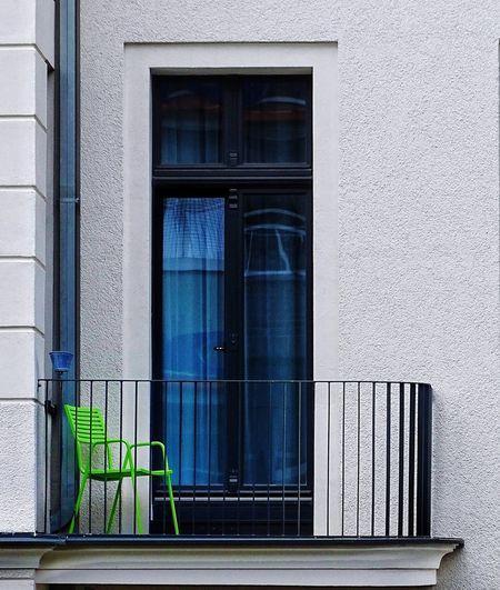 Chair In Balcony