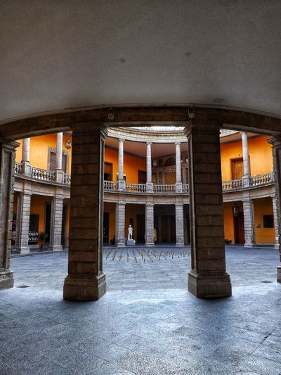 Urbanphotography Travel Memories Travel Mexico Museum Museum Visit Architectural Column Place Of Worship Ancient Civilization Religion Architecture Built Structure