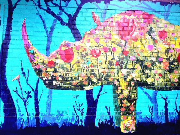 Streetart Lima Peru Art De Rue Peinture Rinhoceros Painting Graffiti Art Graffiti Wall Graffiti Graffiti & Streetart