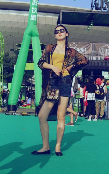 Strawberry Music Festival 2015 One Day Today's Hot Look Street Photography That's Me Model Happy Time Hot Day