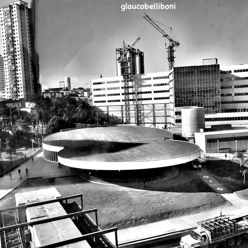 Subway Station Architecture Building Exterior Built Structure Outdoors City Streetphotography Sao Paulo - Brazil São Paulo, Brasil Saopaulocity Saopaulo Saopaulowalk Blackandwhite Black & White Blackandwhite Photography Estação Vila Prudente