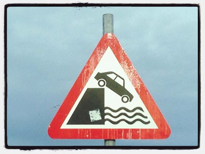 Welcome to the Irish Sea.