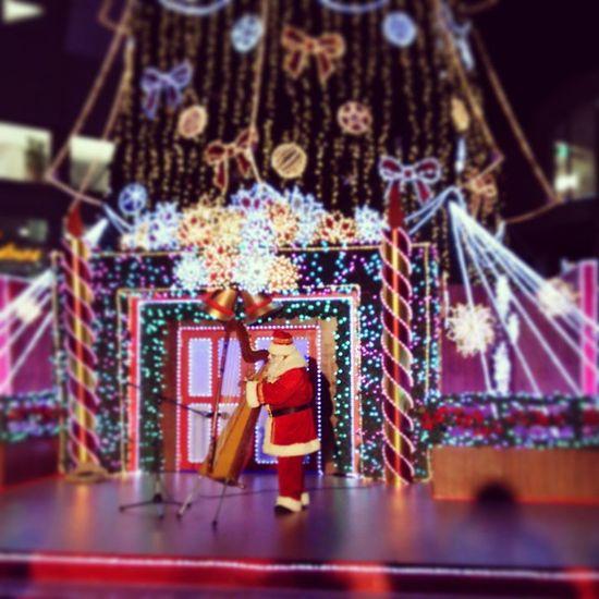 サンタさん🎄🎅🎁✨ クリスマスマーケット サンタクロース スカイビル 大阪 Harp OSAKA Sky Building Santaclaus Christmas Market
