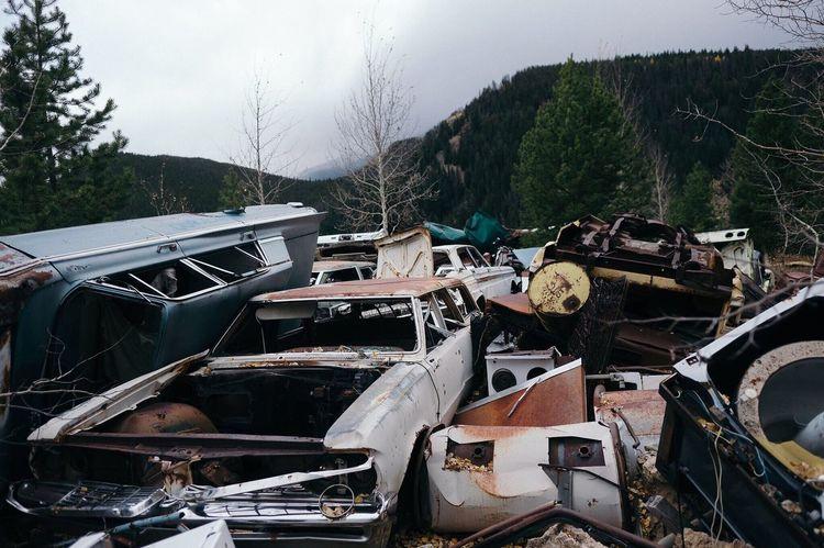 Gilman, Colorado Outdoors Mountain Abandoned Rocky Mountains Cars First Eyeem Photo