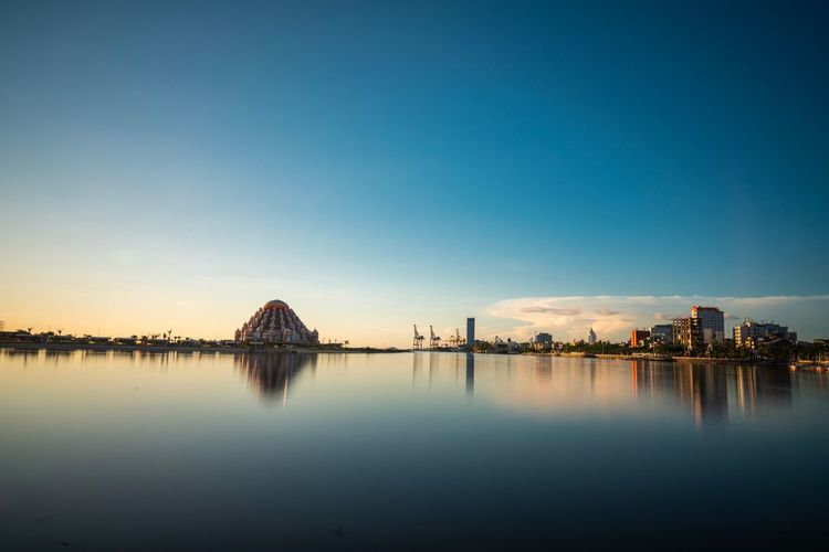 Beutiful landscape Built Structure Sonya7riii Architecture Water Sky Reflection Nature Waterfront Clear Sky