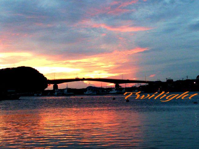 お疲れチャン(^o^)v Twilight Miyazaki Kushima Fresh Air Enjoying Life Yuka  Pray For Kyushu Relaxing 夕凪 Healing