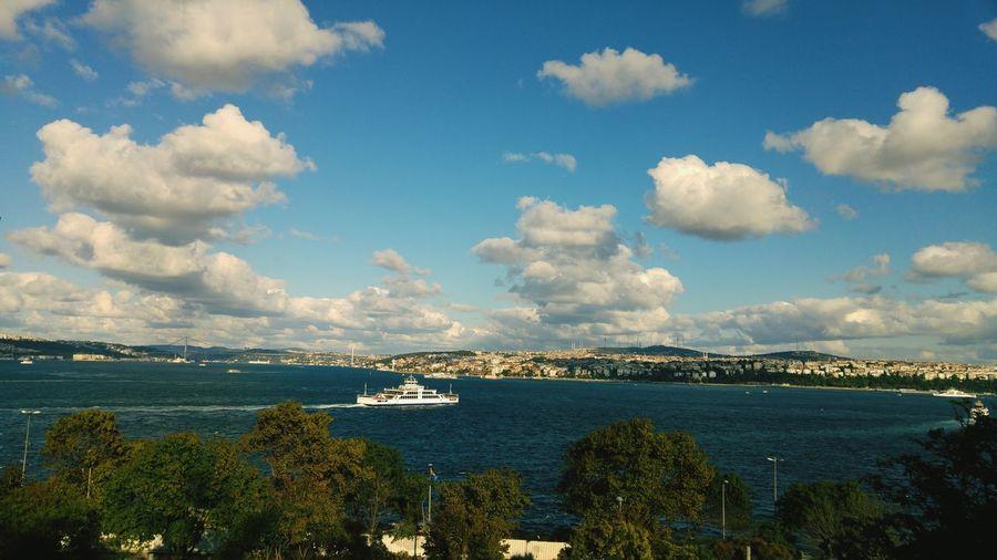 Istanbul Turkiye Great View Bosphorus Anatolia