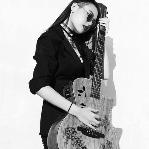 """Guitar girl"" Model @belleeitsari Photograph by @kaioostudio Guitar Dancer Kaiooostudio Fashion Fashionbook Photography"