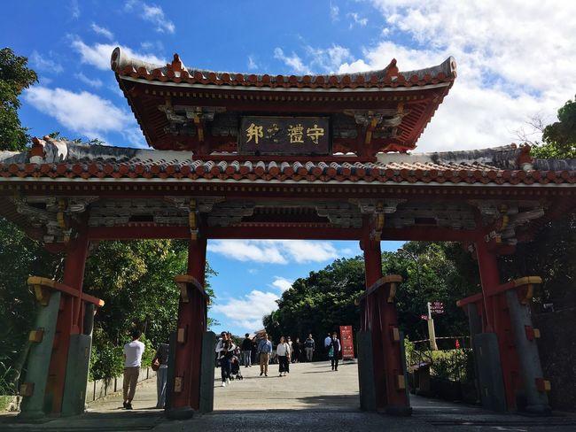 OKINAWA, JAPAN Okinawa Naha Shurijou Shurei-mon IPhone