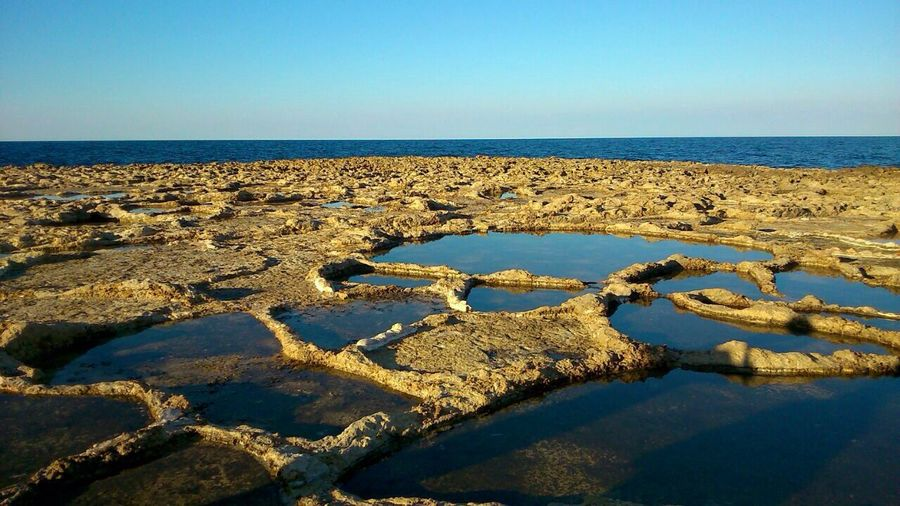 wonderful nofilter landscape of Malta, my family's origines island. Malta Sea Mediterranean  Island First Eyeem Photo