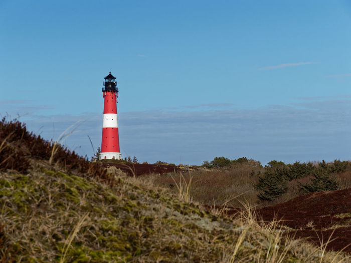 Light House Sylt, Germany Architecture Blue Sky Grass Island Lighthouse Nature Outdoors Sky