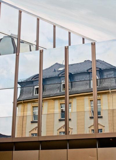 Building Exterior Buildings Glas Facade Glas Facade Mirroring Historic Buildi Historic Buiding Mirror Effect Old Buildings Outdoors