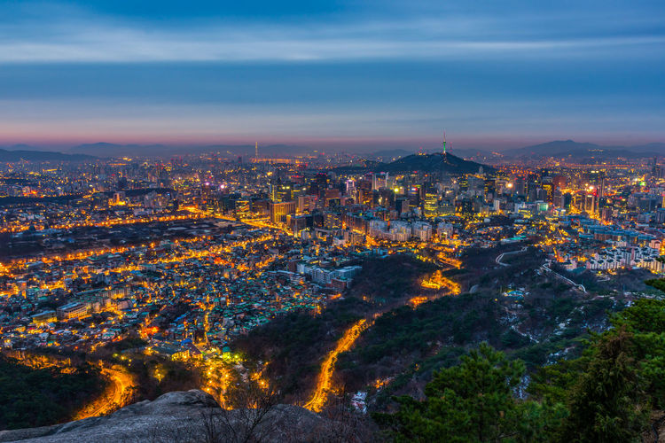 City Korea LOTTEWORLD Seoul Travel Gyeongbokgung Palace, Seoul Landmark Landscape Namsan