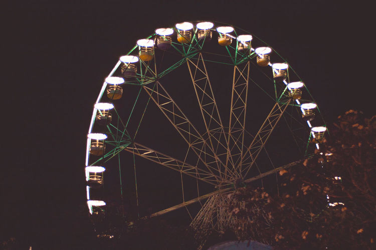 Enchanted Kingdom, Sta. Rosa Laguna Theme Park Tristanpacatang Silhouette Rides Night Lights Night Landscape Hipster Ferris Wheel Family Carnival