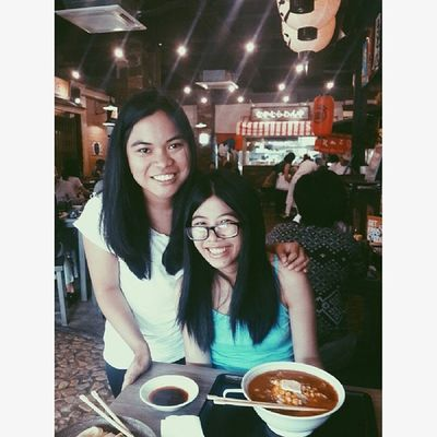 Mitsuyado, Classic Confections, and karaoke with these 2. Thanks for seeing me yesterday!!! Sa 2015 ulit haha!