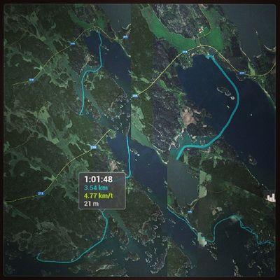 4 turer m kajak från Helgö - Stendörren,Helgö-Rågö,Helgö-Vålarö