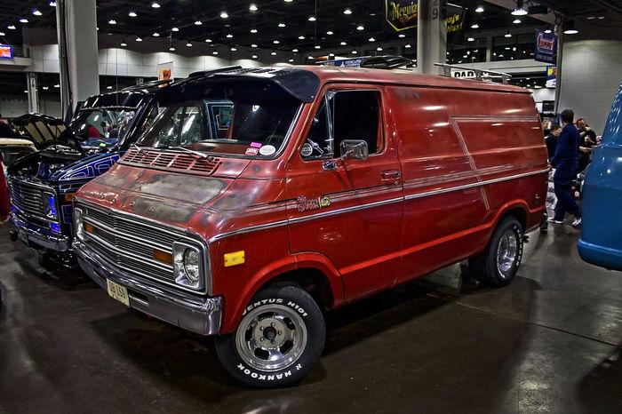 Car Show Old Van