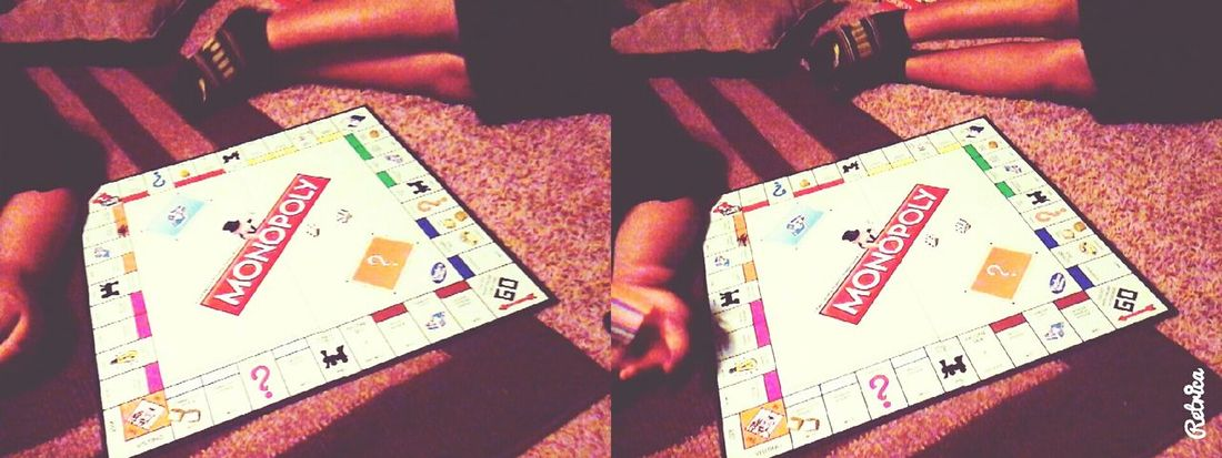 playing Monopoly 😊😀 $$$