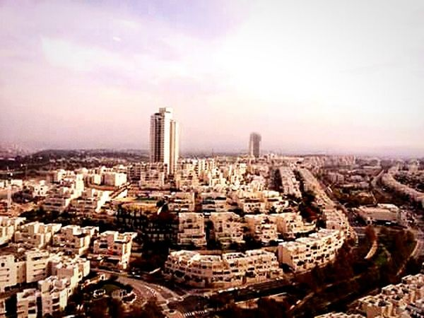 Urban 4 Filter Modiin, Israel City View  Holiday City At My Friends House Horizon Israel City Skyline View From The Balcony