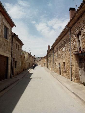 Camino CaminodeSantiago Dorf El Camino De Santiago Jakobsweg Pilgern Pilgrimage Road Straße Village Way Of Saint James