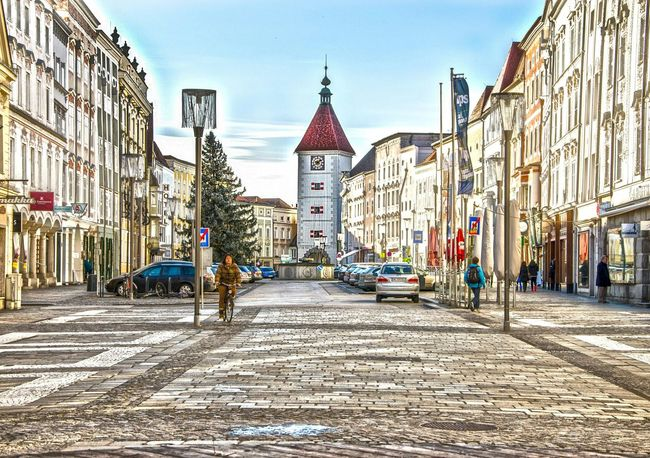 Austria ❤ Upperaustria Wels stadtplatz Georgsphotoart