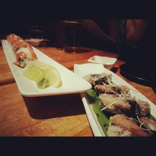 Great food and beer on the house thanks to @camyxaini and her cousin Nomeizakaya Food Instafood Nightout