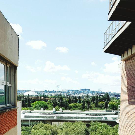 University Insat Tunis Architecture Sky City Outdoors Day Cityscape