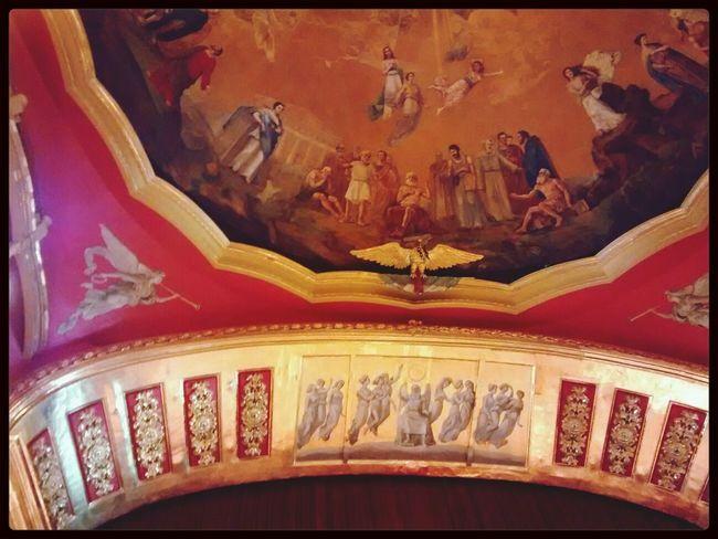 Teatro Degollado Guadalajara Lienzo Divina Commedia