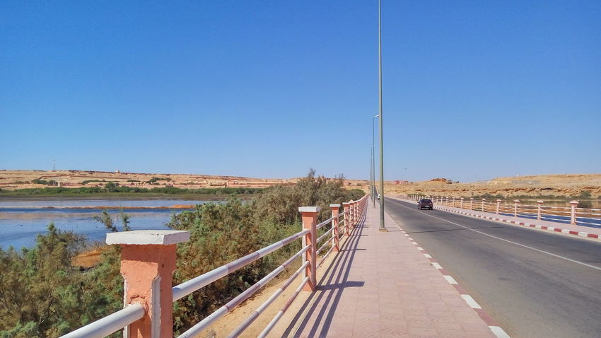 El Aaiún Desert Sahara Sakia El Hamra River Bridge Laayoune