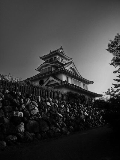Nagahamacastle Nagahama Shiga Shiga,Japan Castle Blackandwhitephotography Black & White Blackandwhite Photography Blackandwhite Ultimate Japan