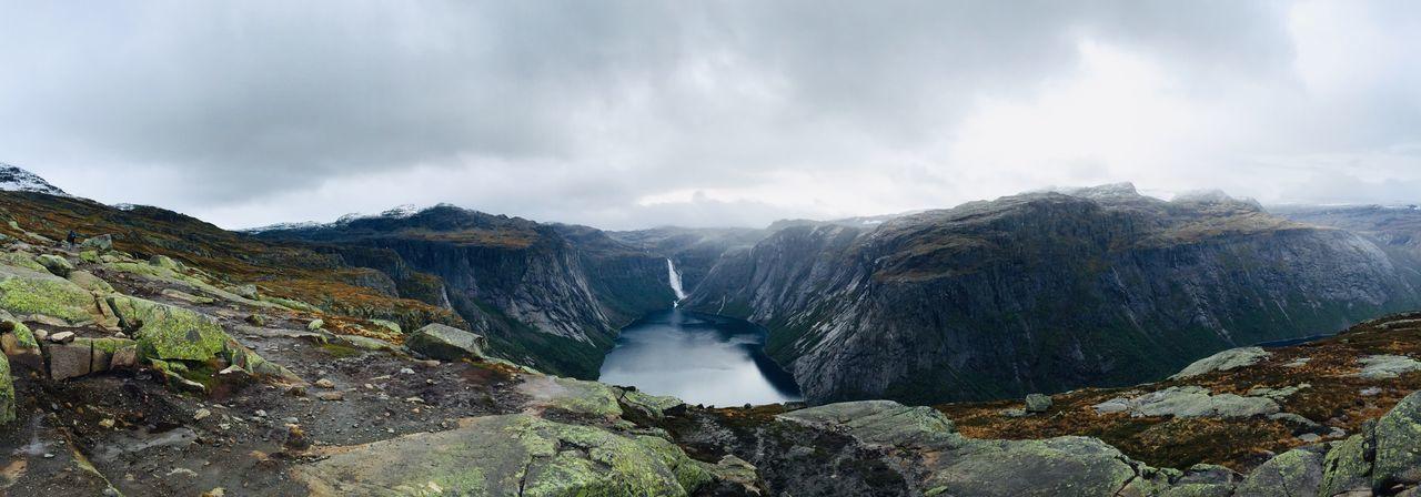 挪威峡湾 Fjord Odda Trolltunga Norway First Eyeem Photo