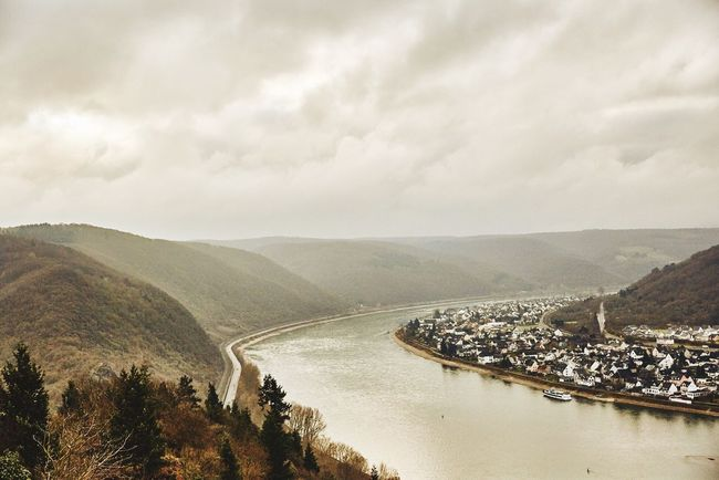 Down the Rhine Germany Rhine Rhine River Sky Mountain Beauty In Nature Mountain Range Landscape River No People Outdoors Nature Clay Hayner Photo Photo Of The Day Travel ClayHaynerPhoto Photography Travelphotography Travelgram Photooftheday Travel Destinations Travel Photography Nature Cloud - Sky Photo