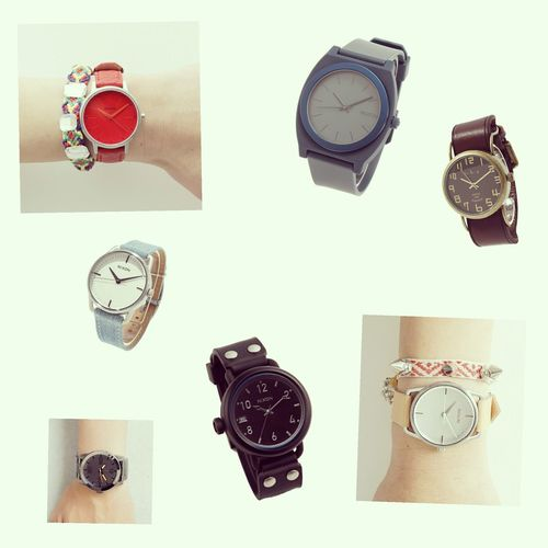 Nixon Watch Clock IWant Cute