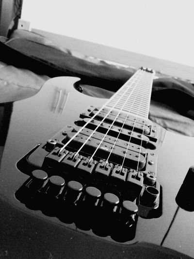 Music Ibanez Guitar Guitar Love Blackandwhite Music Arts Culture And Entertainment Musical Instrument Close-up Number Hobbies