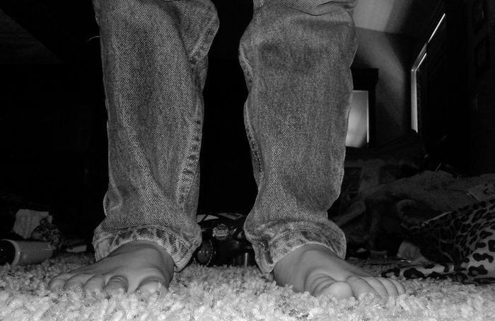 Feet Taking Photos Child Foot