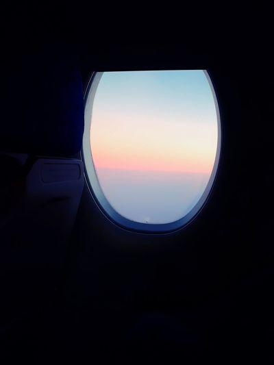 Travel Photography Traveling Travel Traveling By Plane ✈ 😚 EyeEmNewHere EyeEm Selects Sunset Circle Sky Geometric Shape Scenics Astronomy Shore Half Moon Idyllic Moon Surface Hexagon A New Beginning