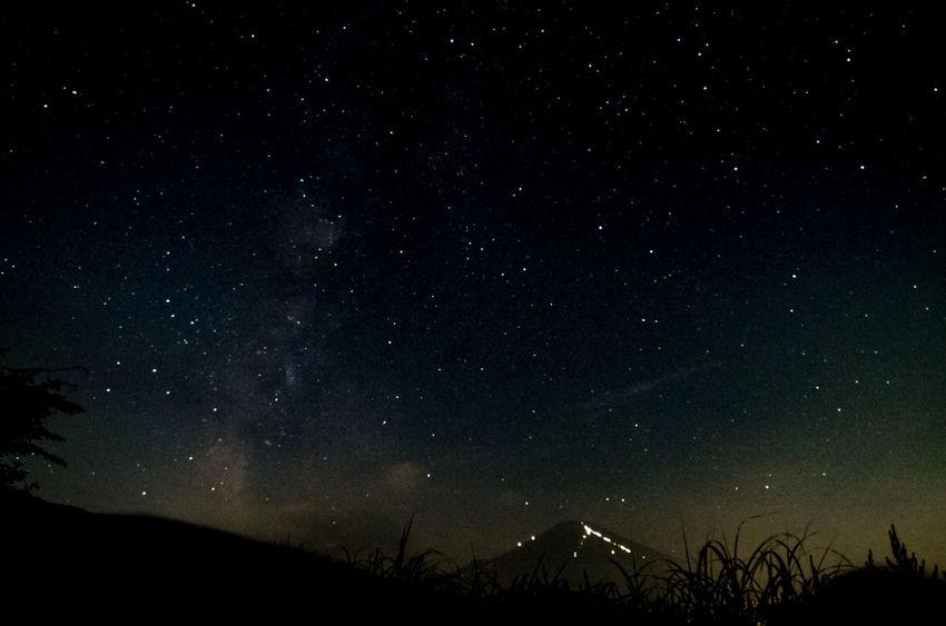 Japan Milkyway Mt,Fuji Star Yamanashi 三国峠 山中湖 山梨