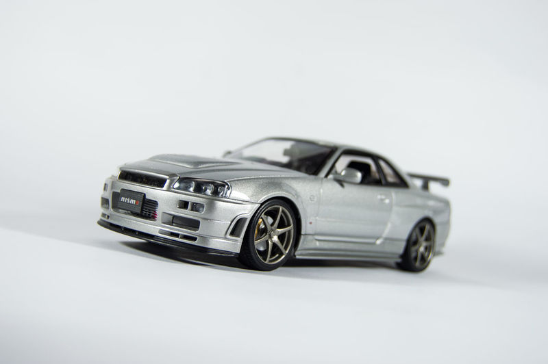 Aluminum Car Close-up Diecast Diecastphotography GTR Metal Motorsport Nissan Nissan GTR Nissan Skyline No People Photography Racecar Shiny Silver  Silver - Metal Skyline Sports Car Studio Shot Toy Toys Toystagram Transportation White Background The Week On EyeEm EyeEmNewHere