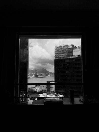 Architecture City Sky HongKong
